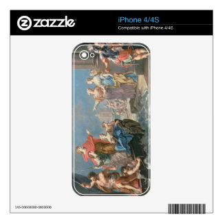 The Departure of Aeneas Skins For iPhone 4S