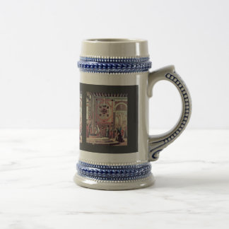 The Departure Of The Ambassadors By Carpaccio 18 Oz Beer Stein