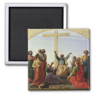 The Departure of the Apostles, 1845 Fridge Magnets