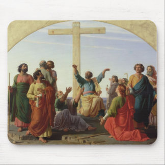 The Departure of the Apostles, 1845 Mouse Pad