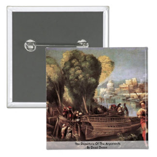 The Departure Of The Argonauts By Dossi Dosso Pinback Buttons