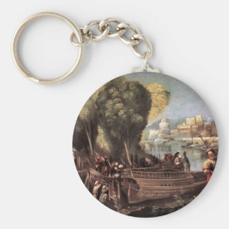 The Departure Of The Argonauts By Dossi Dosso Keychain
