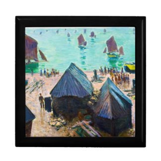 The Departure of the Boats, Etretat Claude Monet Gift Box