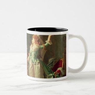 The Departure of the Dragoon Guard, 1774-1819 Two-Tone Coffee Mug