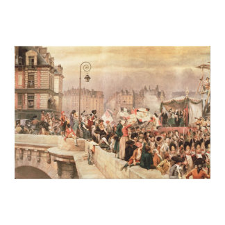 The Departure of the Volunteers 1792 Canvas Print