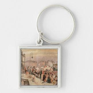 The Departure of the Volunteers 1792 Keychain