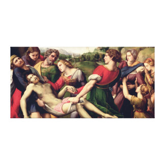 The Deposition, 1507 Canvas Print