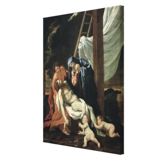 The Deposition, c.1630 Canvas Print