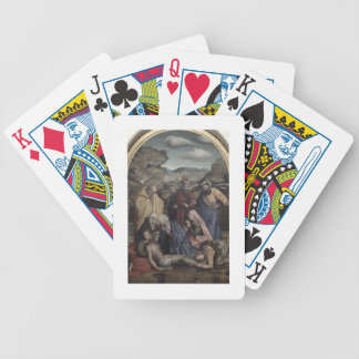 The Deposition (oil on canvas) Bicycle Playing Cards