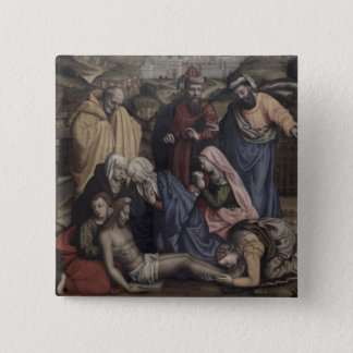 The Deposition (oil on canvas) Pinback Button