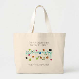 The Depth of Life Canvas Bags