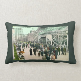 The Derby Riverview Park Chicago Throw Pillows