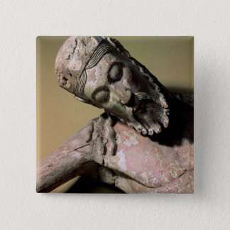 The Descent from the Cross, 12th century (polychro Pinback Button