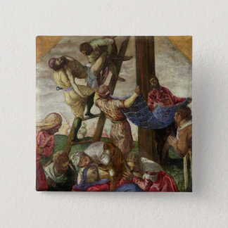 The Descent from the Cross, c.1560-65 Pinback Button