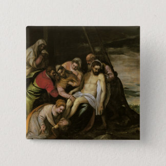 The Descent from the Cross Pinback Button