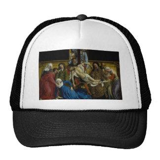 The Descent from the Cross Rogier van der Weyden Trucker Hat