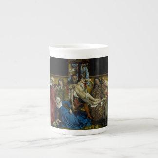 The Descent from the Cross Rogier van der Weyden Bone China Mug