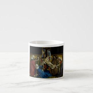 The Descent from the Cross Rogier van der Weyden Espresso Mug