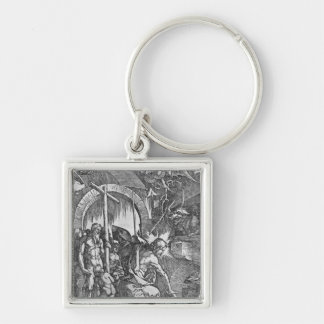 The descent of Christ into Limbo Keychain