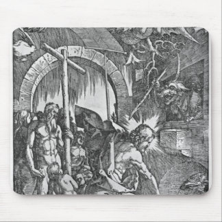 The descent of Christ into Limbo Mouse Pad