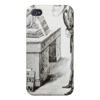 The Descent of Man iPhone 4 Case