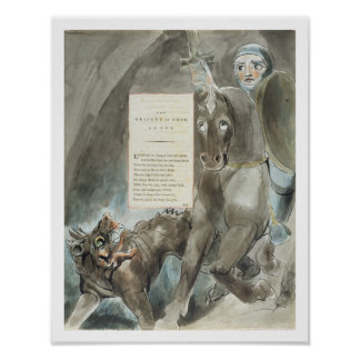 The Descent of Odin, An Ode, from 'The Poems of Th Poster
