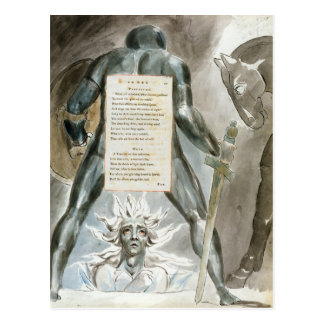 'The Descent of Odin', design 81 from 'The Poems o Postcard