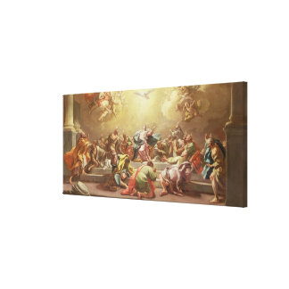 The Descent of the Holy Spirit Canvas Print