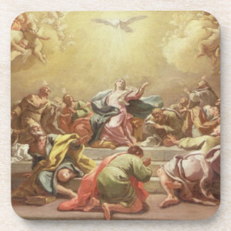 The Descent of the Holy Spirit Drink Coaster
