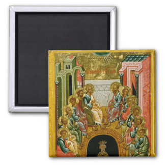 The Descent of the Holy Spirit 2 Inch Square Magnet