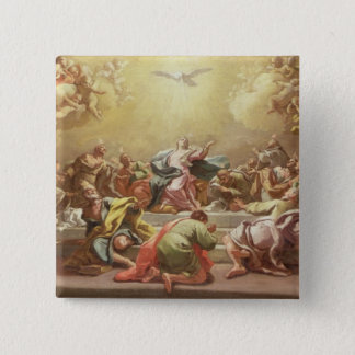 The Descent of the Holy Spirit Pinback Button