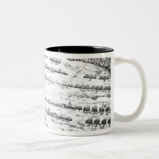 The Description of the Armies of Horse Two-Tone Coffee Mug