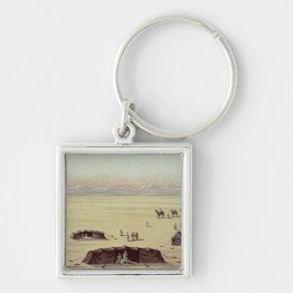 The Desert Camp of Sir Richard Burton Keychain