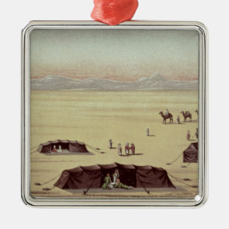 The Desert Camp of Sir Richard Burton Metal Ornament