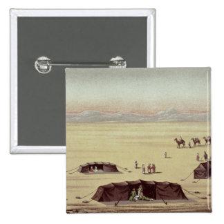 The Desert Camp of Sir Richard Burton Pinback Button