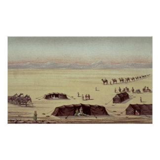 The Desert Camp of Sir Richard Burton Poster