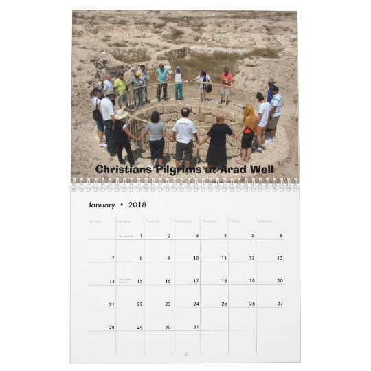 The Desert Experience in Israel Calendar