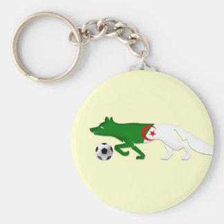 The Desert fox Algeria flag Le Fennec soccer gifts Keychain