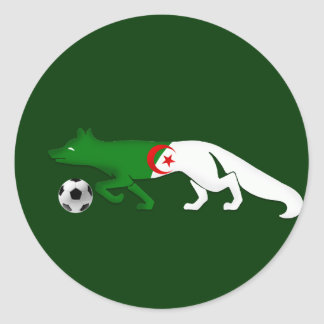 The Desert fox Algeria flag Le Fennec soccer gifts Stickers