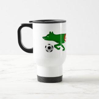 The Desert fox Algeria flag Le Fennec soccer gifts Travel Mug