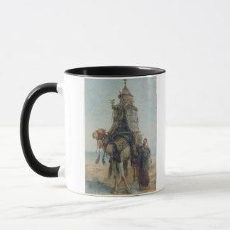 The Desert Ride, 1839 (w/c on paper) Mug