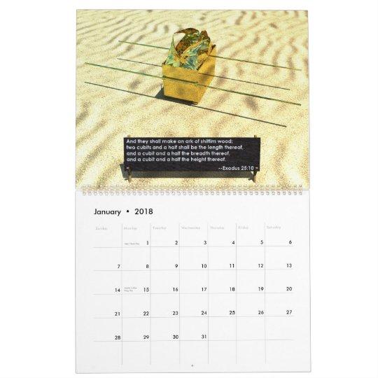 The Desert Tabernacle Calendar
