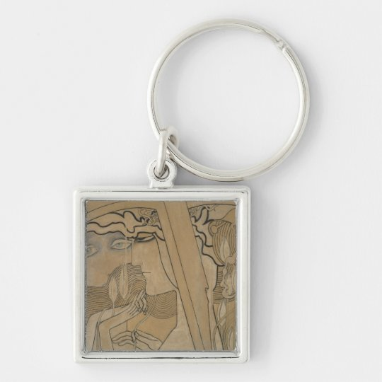 The Desire and the Satisfaction, 1893 Keychain