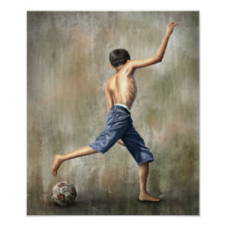 The Desire - Jackie Liao - Soccer Futebol Futbol Posters