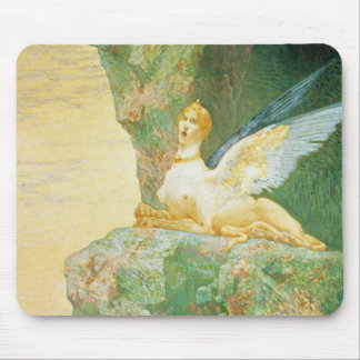 The Despair of the Sphinx, 1890 Mouse Pad