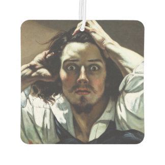 The Desperate Man by Gustave Courbet Car Air Freshener