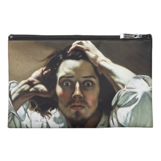 The Desperate Man by Gustave Courbet Travel Accessory Bag