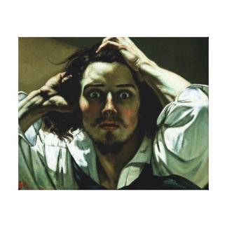 The Desperate Man - Painting Reproduction Stretched Canvas Prints