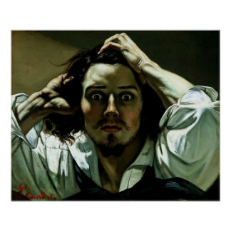 The Desperate Man - Reproduction Art Poster
