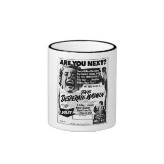 The Desperate Women Ringer Mug